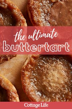 Recipe For Butter Tarts, Canadian Butter Tarts, Tarts Recipe, Easy Tart Recipes, Pastry Recipes, Baking Recipes, Just Desserts, Delicious Desserts, Dessert Recipes