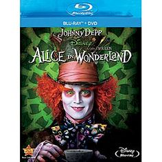 Disney Alice In Wonderland - 2-Disc Blu-ray + DVD Combo Pack   Disney StoreAlice In Wonderland - 2-Disc Blu-ray   DVD Combo Pack -  Join Alice for a fantastical adventure from Walt Disney Pictures and Tim Burton. Inviting and magical, this is an imaginative new twist on one of the most beloved stories of all time.