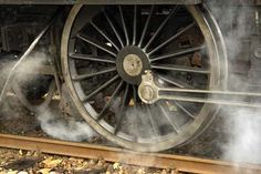 Steam locomotive wheel - click to see all cultural symbols