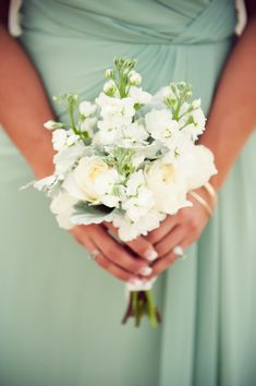 Bouquet | Elegant Mint Farm Wedding - See the wedding on Style Me Pretty: http://www.StyleMePretty.com/little-black-book-blog/2014/03/03/elegant-mint-farm-wedding/ Kimberly Jarman Photographer