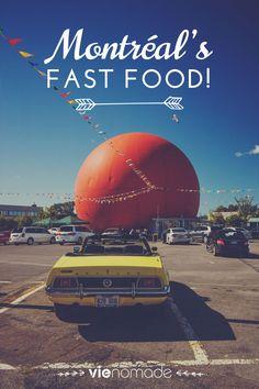 Du classique revisité, du classique vintage, du classique classique! Montréal, c'est la classe suprême du bon et gras. Montréal, c'est le paradis du fast food. Bon appétit, les amis!