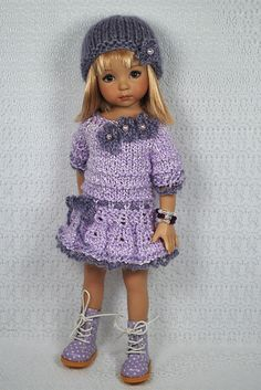 Doll Clothes/ Knitting