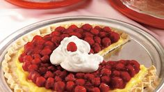 Enjoy this delicious vanilla cream cherry pizza made using Pillsbury® Refrigerated Pie Crust that can be ready in just 25 minutes.