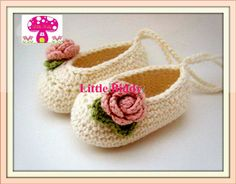 crochet ballet booties  www.littlebiddy.com.au