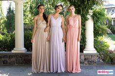 Boho Goddess Bridesmaid Dresses: LHC Couture - http://www.weddingsen.com/wedding-magazine/boho-goddess-bridesmaid-dresses-lhc-couture.html