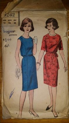 Dresses, Size 16, Vogue 5262