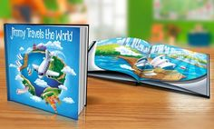 """image for Up to 65% Off """"Travels the World"""" Personalized Kids Book"""