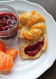 Pursuit of Sweetness: Easy! Croissants & Berry Chia Jam