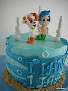 Bubble guppy cake/taart