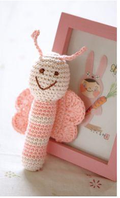 Crochet butterfly <3