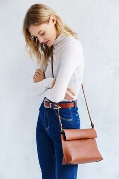 Silence + Noise Roll Clutch Crossbody Bag - Urban Outfitters