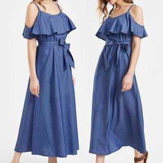 Nouvelle chemise à Manches Longues Swing Patineuse épaule Off robe top grandes tailles 8-22