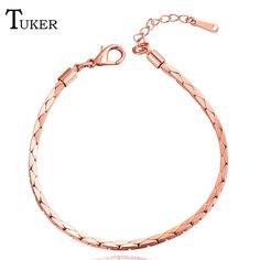 new Fashion Plated Bracelet Men Jewelry Gift Wholesale 2 Colors Chain Bracelets for Women Bracelete #Affiliate
