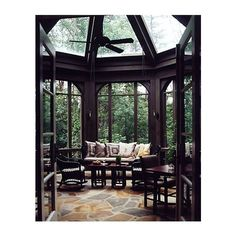 Conservatories Design Chic ❤ liked on Polyvore featuring room, pics, backgrounds, home and interior design