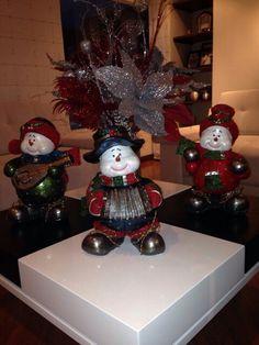 muñecos de nieve!