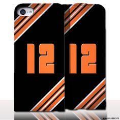 Protection iPhone 5 Cuir Numero - Personnalisez votre étui en cuir. #Aveyron #12 #Numero #etui #iPhone5