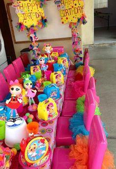 Mesa dos convidados para crianças