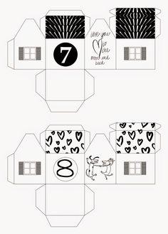 mixtum design: Letos s předstihem . Advent, Floor Plans, Design, Home Decor, Decoration Home, Room Decor, Home Interior Design, Floor Plan Drawing