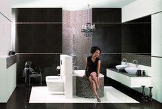 Mozaiki szklane – fantazyjne pomysły na łazienkę