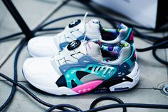 GraphersRock and PUMA Drop a Pack of Digitally-Inspired Kicks