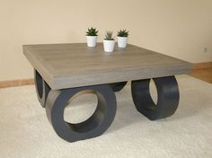 Muebles de carton on pinterest cardboard furniture - Table basse original ...