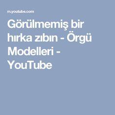 Görülmemiş bir hırka zıbın - Örgü Modelleri - YouTube