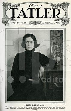 Liliane Beaumont d'Erlanger (1902 - 1945) . following her engagement to Prince Jean Louis de Faucigny-Lucinge