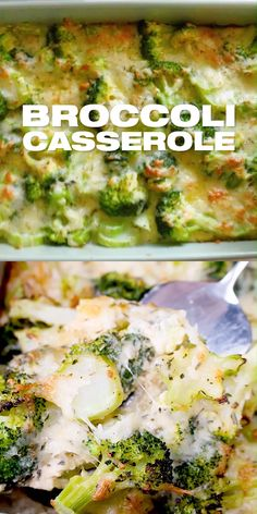 Easy Broccoli Casserole Recipe - Easy Broccoli Casserole Recipe – How to make broccoli casserole. Vegetarian holiday thanksgiving s - Easy Broccoli Casserole, Vegetable Casserole, Easy Casserole Recipes, Vegetarian Casserole, Vegetarian Food, Brocoli Casserole Recipes, Egg Plant Recipes Healthy, Vegetarian Broccoli Recipes, Yummy Healthy Recipes