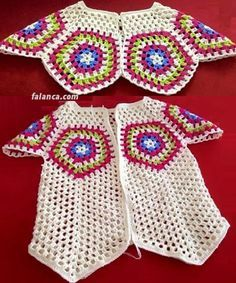 tig baby vest with motif - Knitting T-shirt Au Crochet, Pull Crochet, Crochet Coat, Crochet Girls, Crochet Jacket, Crochet Granny, Crochet Baby Sweaters, Crochet Baby Cardigan, Crochet Shirt