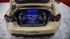 Scion And Subaru Brz Sema Show Car Tuning HD