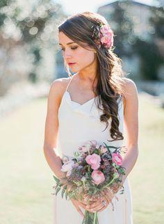 13 Utterly Gorgeous Half Up Half Down Wedding Hairstyles - Wedding Blog   Ireland's top wedding blog with real weddings, wedding dresses, ad...