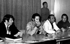 Elvis At a press conference on June 25, 1968