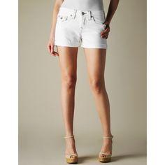 True Religion Brand Jeans Jayde Boyfriend Cut Off Short ($138)