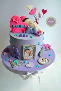 Violetta Birthday Cake - Cake by miettes