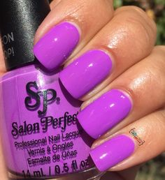 Salon Perfect Purple Pop!