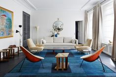 Paris appartement decoration design