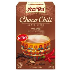 Yogi Tea - Choco Chilli Aztec Spice - 37.4g ** Click on the image for additional details.