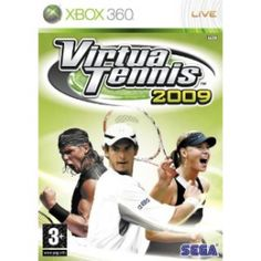 Virtua Tennis 2009 Game - http://robsemporium.com/shop/video-games/virtua-tennis-2009-game/