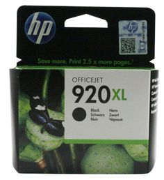Hewlett Packard [HP] No. Inkjet Cartridge Page Life 1200pp Black Ref CD975AE#BGX 920XL - HP – Ink Cartridges  - http://ink-cartridges-ireland.com/hewlett-packard-hp-no-inkjet-cartridge-page-life-1200pp-black-ref-cd975aebgx-920xl/ - 1200pp, 920XL, black, cartridge, CD975AE#BGX, Hewlett, HP, Inkjet, Life, No, Packard, Page, Ref