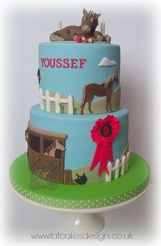 horses cake.