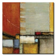 32_SEK03 _ Emergence I / Cuadro Abstracto, Paneles de Color