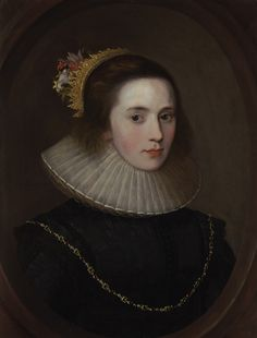 Portrait of Gertrude Sadleir, Lady Aston of Forfar (b.c.1582-7)