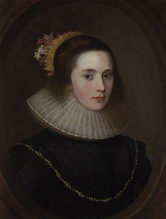 Portrait of Gertrude Sadleir, Lady Aston of Forfar (b.c.1582-7)