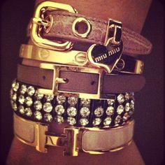 Hermes, Cartier, Miu Miu   Oh how perfect.