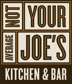 Logo for Not Your Average Joe's In Methuen, MA