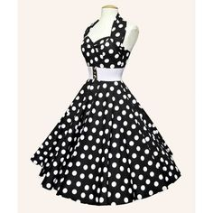 Black And White Polka Dot Bridesmaid Dresses