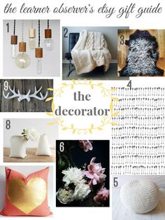 The Decorator Gift Guide -Momo