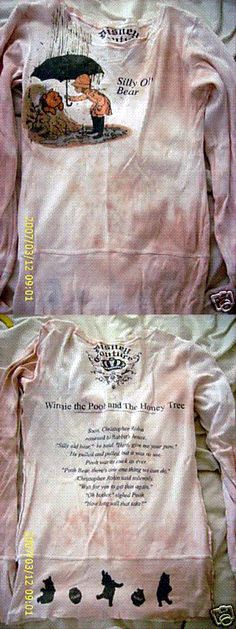 Disney couture - Winnie the Pooh - saw this shirt once, only once - have been looking for it ever since!