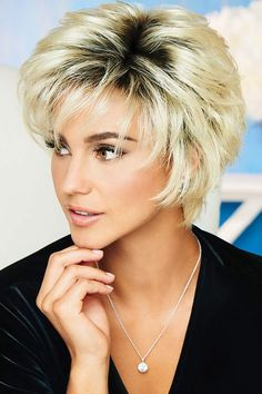 Voltage by Raquel Welch Wigs Very Short Hair, Short Wavy, Short Hair Cuts, Short Shag, Short Hairstyles For Women, Bob Hairstyles, Straight Hairstyles, Haircuts, Pretty Hairstyles