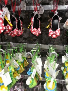 New Disney Christmas ornaments shoes! I am LOVING this new collection! I will be displaying these ALL year long!